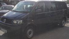 The stolen van