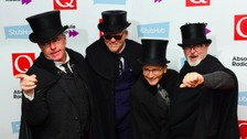 Madness attending the Q Awards, at the Roundhouse in Camden, London.