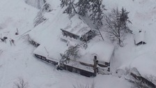 'Many feared dead' after Italian hotel hit by avalanche