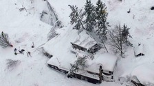 'No signs of life' after avalanche buries Italian hotel