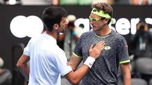 Djokovic dumped out of Australian Open by Uzbekistan's Istomin