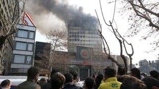 Thirty firefighters killed and many injured in Tehran building collapse
