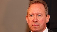 Former Nottingham Forest captain & Club Ambassador, John McGovern