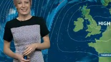 Helen has the latest ITV Meridian weather