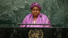 Isatou Njie Saidy has been Vice President of The Gambia for 20 years.