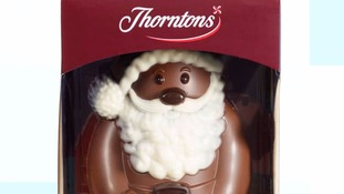 Thorntons recalls chocolate Santas over fears the products may contain plastic pieces