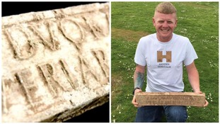 Roman ingot found with a metal detector after 2000 years expected to fetch £20,000