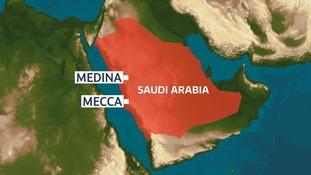Six Britons die in minibus crash in Saudi Arabia