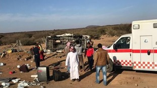 Family from Manchester die in Saudi bus crash