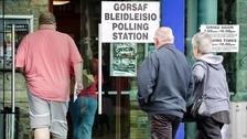 Penygraig polling station