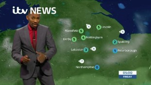 East Midlands Weather: Cloudy and misty