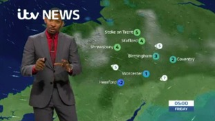 West Midlands Weather: Staying cloudy overnight