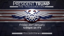 President Trump: The Inauguration - watch live on ITV