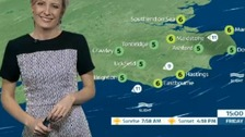 Helen Plint has today's forecast