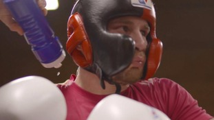 Frampton is getting ready for his rematch in Las Vegas.