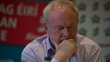 Martin McGuinness announced his stepping down on Thursday.