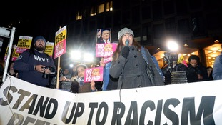 Previous 'Stand Up To Racism' protest