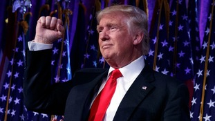 Donald Trump set to become 45th US president