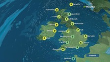 Weather: Cloudy with patchy drizzle and fog