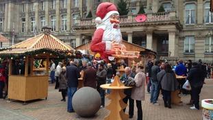 Sampling the delights of Frankfurt... in Birmingham