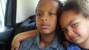 The siblings both died in the blaze