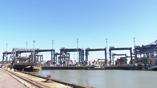 One person has died in an incident in the boiler room of a ship that was docking at Felixstowe Port.