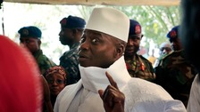 Ex-Gambian leader given deadline to stand down or be forced out
