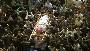 Ahmed Jaabari funeral