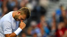 Britain's Dan Evans through to last 16 at Australian Open