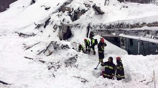 Italian firefighters