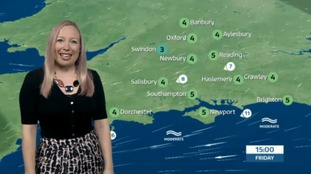 Philippa has Friday's forecast for the west