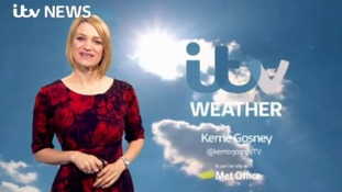 Friday's weather update with Kerrie