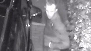 CCTV shows an attempted burglary while the family are asleep in Putney
