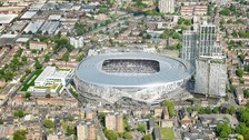 Spurs reveal first look inside new stadium