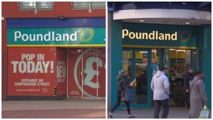 Poundland stores in Birmingham