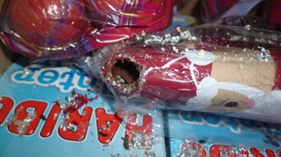Poundland fined for hygiene breaches after mice nibbled chocolate Santas