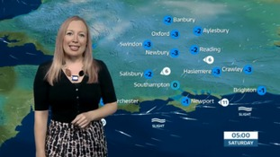 Friday evening's weather update for the west