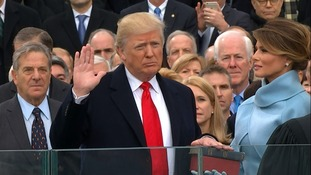 Live: Donald Trump sworn in as 45th US president