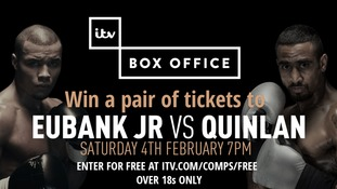 COMPETITION: Win a pair of tickets to watch Chris Eubank Jr fight Renold Quinlan on February 4th