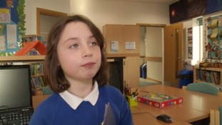 Schoolgirl, 8, leads campaign to save Plymouth libraries