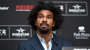 David Haye urges everyone to watch Chris Eubank Jr fight Renold Quinlan on ITV Box Office