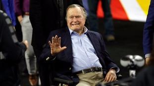 Former US President George H.W. Bush