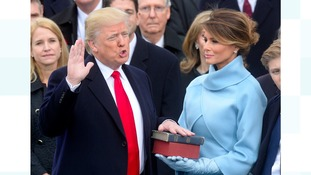 Donald Trump becomes 45th President of the USA