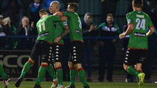 Glentoran got the win as they set their sights on the league's top six.