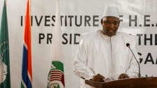 Gambian president: 'Rule of fear has vanished'