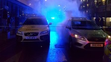 Five police officers injured by mob in Deptford