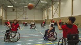How wheelchair basketball is helping to promote better health for all