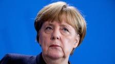 Merkel reacts to Trump's inauguration speech