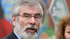 Adams: Brexit will 'destroy' Good Friday Agreement