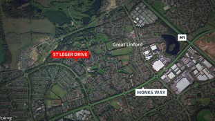 A body was found at St Leger Drive in Milton Keynes.